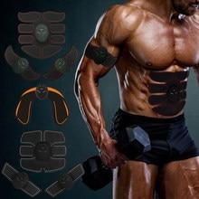 Estimulador muscular elétrico abs estimulador muscular estimulação elétrica cinto abdominal ems trainer massagem anti celulite massageador
