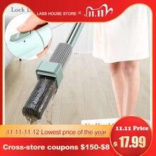 Hand Gratis Kan Stand Mop Voor Wassen Vloer 180 Magic Squeeze Platte Mop 34Cm Grote Spons Lui Mop Huishouden schoonmaken Huis Houten Tegel