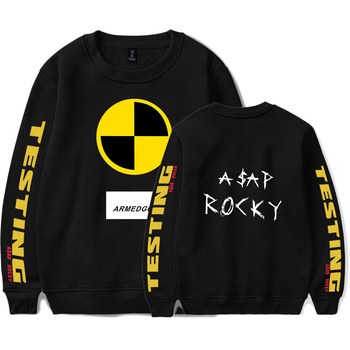 asap rocky black men sweater