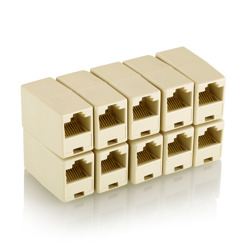 Cable-Connector Butting-Device Network-Cable RJ45 Straight-Through