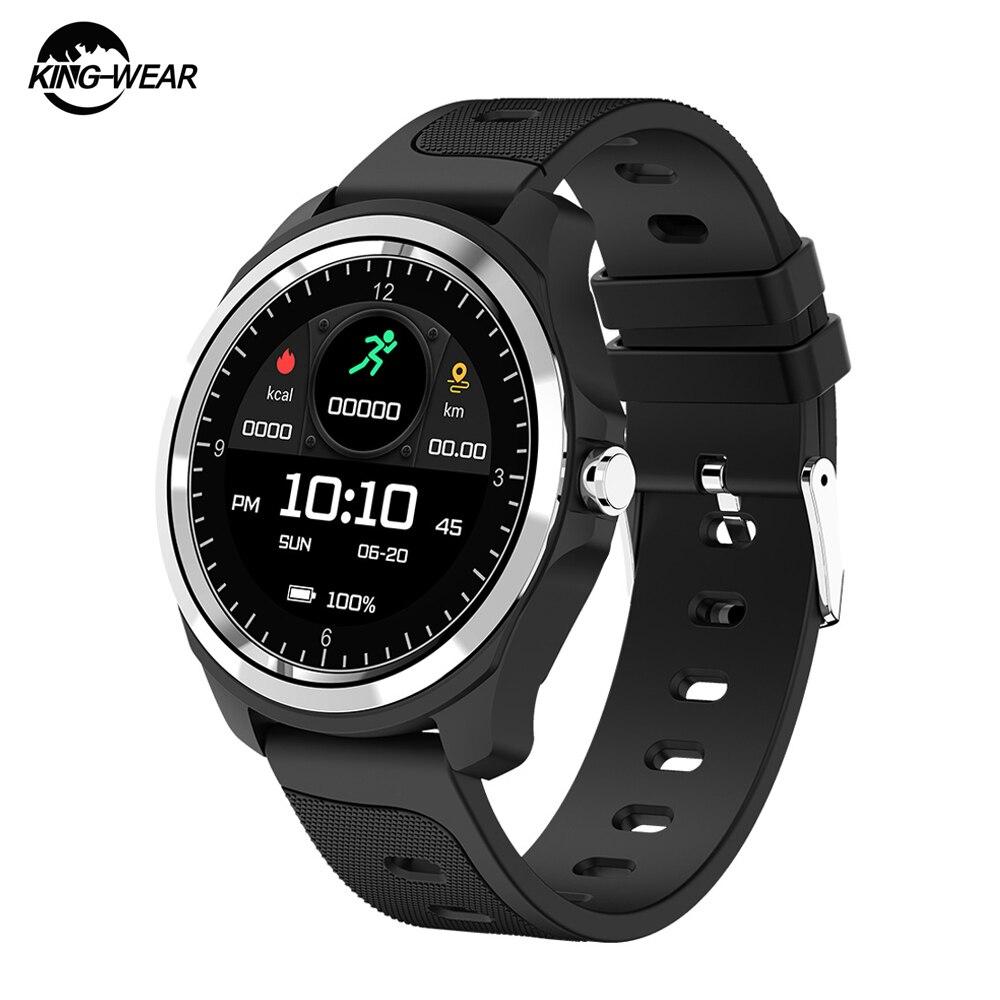 KingWear KW05 Sport Smart Watch Calling Voice Assistant Waterproof Heart Rate Monitor Blood Oxygen Fitness Tracker Smartwatch