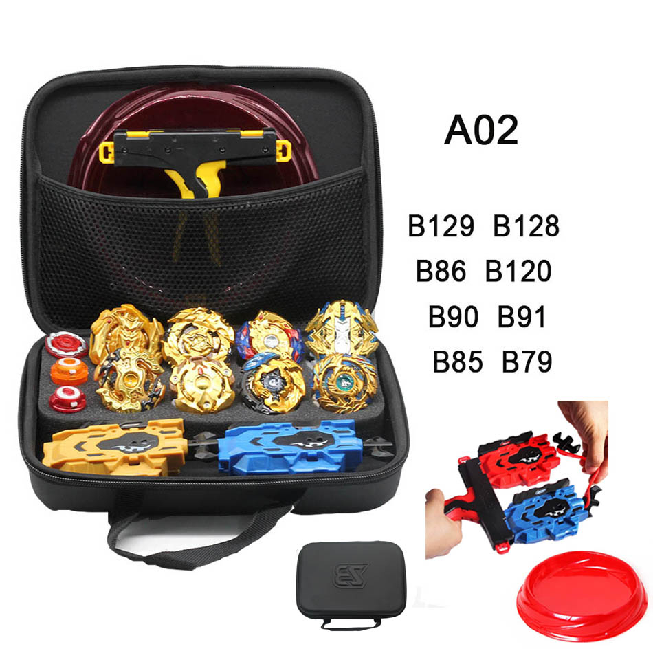 <font><b>Beyblade</b></font> Arena Toy B154 B153 <font><b>B129</b></font> B131 Battle Burst Blades Top Spinning Toys Handle Launchers Toupie Finger Spinner Metal Fusion image