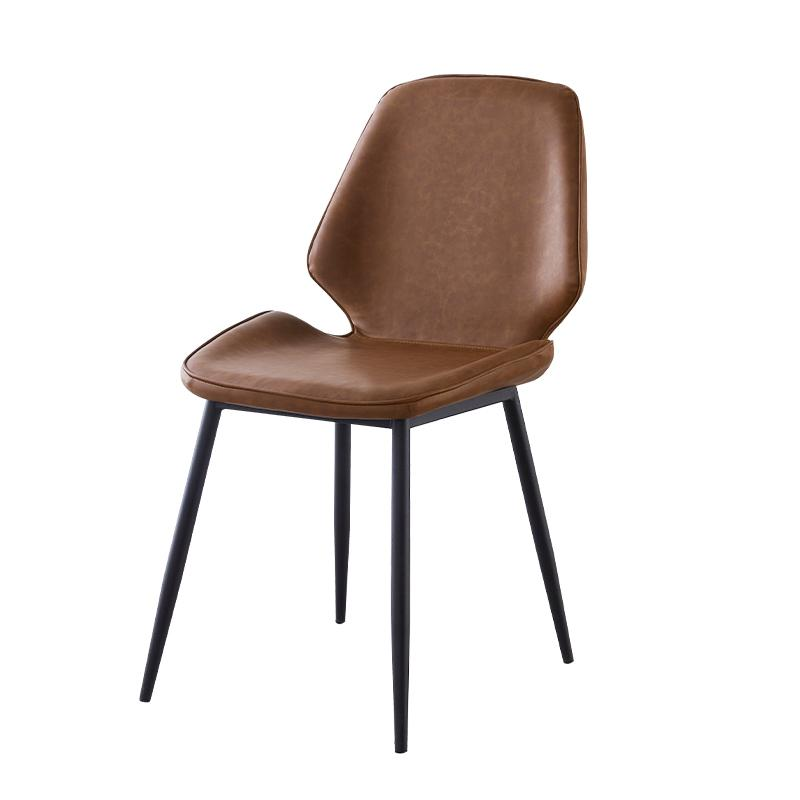 Nordic dining chair modern minimalist home light luxury restaurant backrest chair creative dining table and chair casual compute