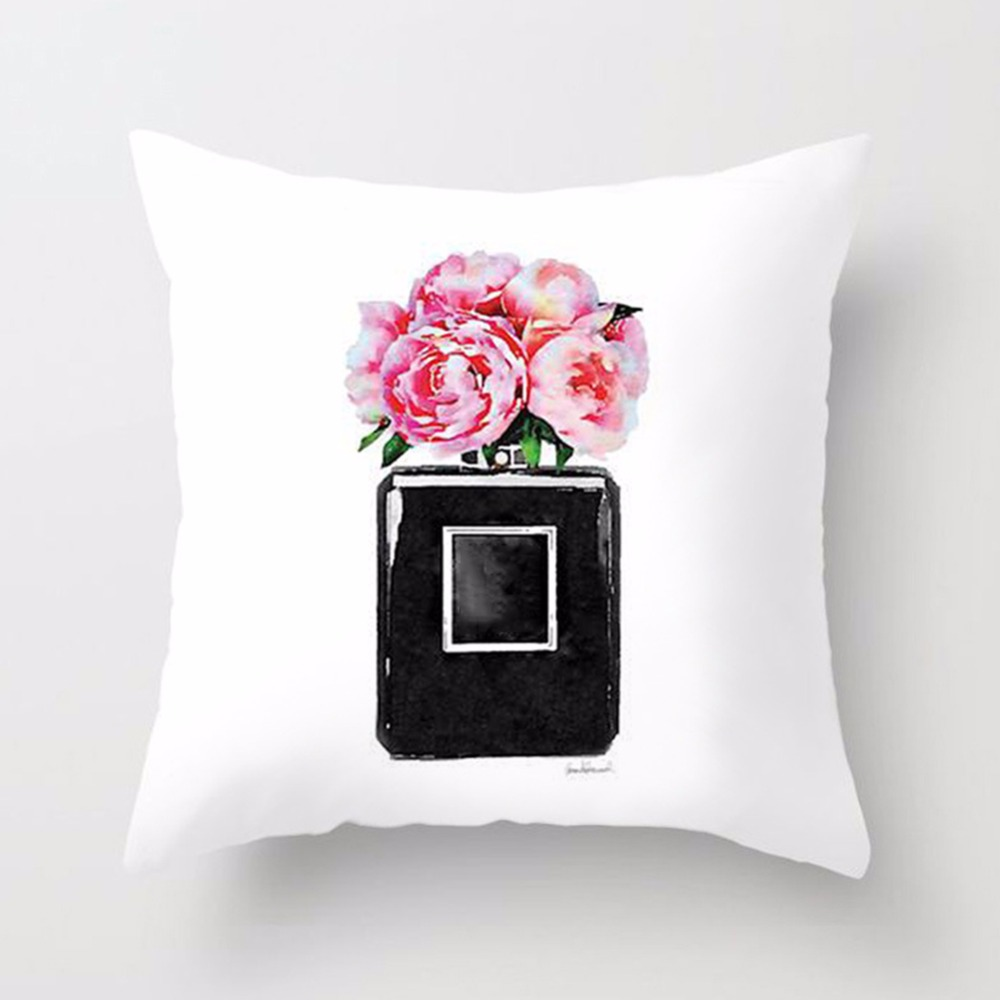 New-Printed-Flower-Pillow-Case-Cover-Square-45cm-45cm-Polyester-Pillowcase-Seat-Cushion-Case-Cover-Home(7)