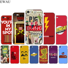 Bazinga The Big Bang Theory tv show Silicone phone case for iphone 5 5s SE 2020 6 6s 7 8 Plus X XR XS 11 Pro Max