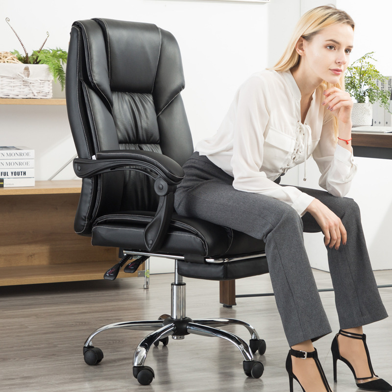 To Work In An Office Chair Boss Chair Computer Chair Leather Chair Member Chair Can Lie Lift Chair Ergonomic Chair Rc -819.