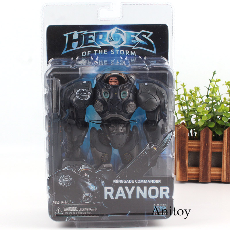 Heroes of the Storm Raynor Action Figures 17cm Sylvanas Renegade Commander Toys