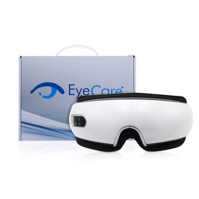 Bluetooth Eye Massager Air Pressures Eye Care Device Wrinkle Fatigue Relieve Eye Vibration Massage Hot Compress Therapy Glasses 5