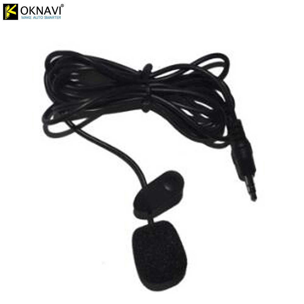 Oknavi 3.5 Mm Externe Microfoon Mini Wired Voor Auto Dvd Bluetooth Stereo Radio Audio Multimedia Video Player Gps Navigatie MP5