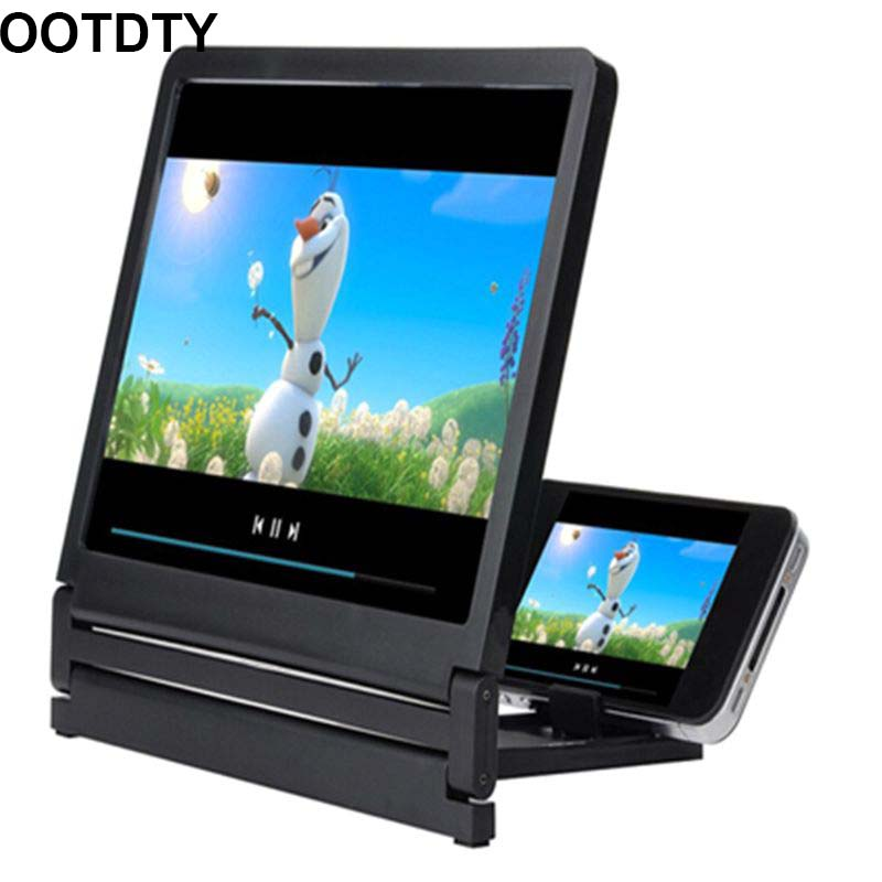 High Definition Screen Amplifier Mobile Phone Screen Magnifier Loop Bracket Increase Stand For Smart Cellphones