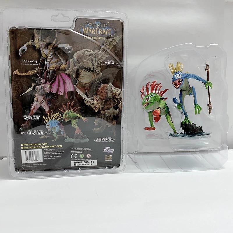 Murloc Pelúcia Peixe De Pelúcia Macio Boneca Figura De Ação Brinquedo Presente De Natal