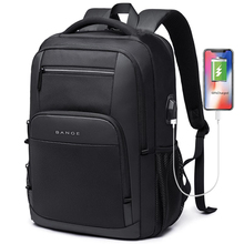 Новый Большой Вместительный рюкзак 15,6 дюйма для повседневной школы, многофункциональный рюкзак для ноутбука с USB зарядкой для подростка