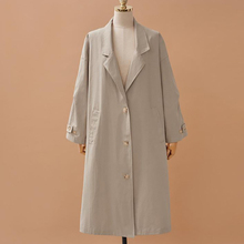 Get more info on the Women's Coat Maternity Clothing UK Brand New Fashion Fall /Autumn Casual Double Breasted Simple Classic Long Trench Coat