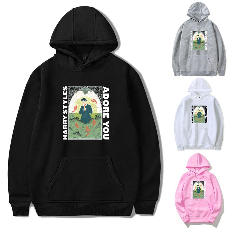 Harry Styles FINE LINE Hoodies Sweatshirt Women Streetwear Hoodie Pink Clothing Men Polerone Winter Clothes Women Harajuku Shirt