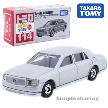 Takara Tomy Tomica No.114 Toyota Century First Edition Scale 1/70 Car Hot Pop Kids Toys Motor Vehicle Diecast Metal Model image