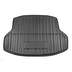 Image 4 - X Autohaux Pe + Eva Foam Anti Vuile Zwarte Kofferbak Laadvloerbekleding Cargo Mat Floor Carpet Lade Cover voor Honda Civic Sedan 2006 2018
