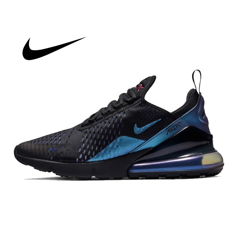 Original Athletic Nike Air Max 270 Mens Sneakers Breathable Cozy Shock Absorption Non-slip Durable Classic Running Shoes AH8050