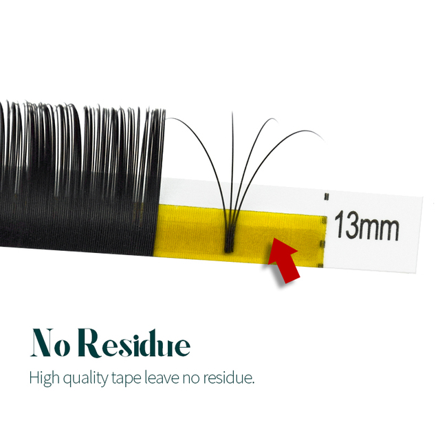 H&L SINCE 1990 20Rows Faux Individual Lashes Maquiagem cilios for Professionals Black Soft Eyelash Extension Thin Tape 3