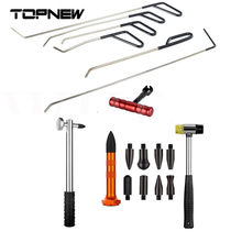 CAR DENT REMOVER KIT CROWBAR CAR BODY PAINTLESS DENT REPAIR TOOL ROD REPAIRHAMMER WITH TAP DOWN PEN PAINTLESS DENT