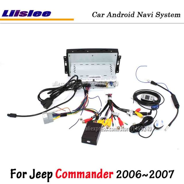 Liislee Android 8.0 For Jeep Commander 2006~2007 Car Stereo Radio Carplay Screen Video GPS Navigation Multimedia No DVD Player