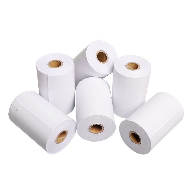 Printed Thermal Paper 80x40mm For ATM/ POS Cash Register Paper Rolls