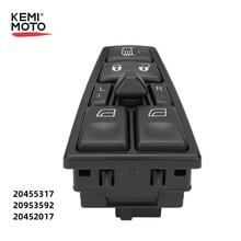 Interruptor para ventana eléctrica para Volvo camión FH12 FMVNL para Volvo FH12 FM12 FM9 20455317 de 20953592 a 20452017