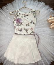 Justaucorps de danse de Ballet pour femmes, sans manches, imprimé de gymnastique, Costume pour adultes, de haute qualité, nouvelle collection 2021