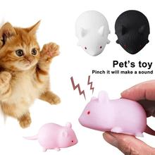 Little Mouse Cat Toy Realistic Sound Pet Toys Mice Gatos Products Productos Para Mascotas  Scratch To
