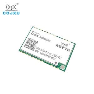 Image 3 - LORAWAN SX1262 LoRa TCXO 915 433mhz の無線モジュール ebyte E22 900M30S スタンプ穴 IPEX アンテナ 850 930 mhz の rf トランスミッタと受信機
