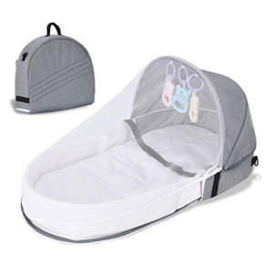 SBaby Bed Crib Nest M...