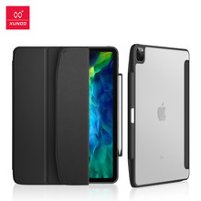 Xundd Case For iPad Pro 11 12.9 2018 2020 10.5 10.2 Case Protective Tablet Cover Leather Matte For iPad 6th 7th Generation Case(China)