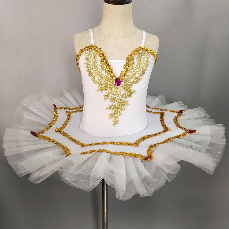 Lolanta M/ädchen Ballettkleid Ballett Tutu Kleid Ballerina Schwan Kost/üm Gymnastik Gymnastikanzug