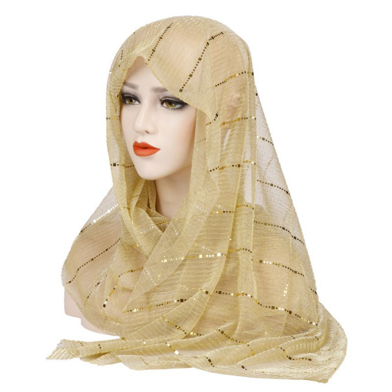 Muslim Women Hijab Head Coverings Scarf Islamic Headscarf Turkish Islam Turban Bandana Women Chiffon Hijab