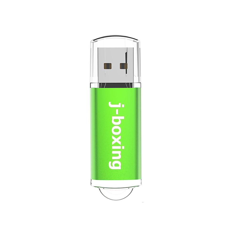 J-boxing 16GB USB Flash Rectangle Pen Drive Thumb Pendrives Flash Memory Stick For Computer Laptop Mac Tablets Gift Pen Storage