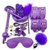 PU 12pcs Purple