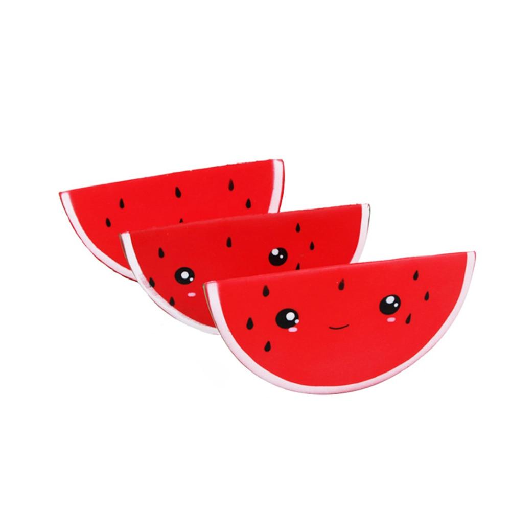 Fidget-Toys Watermelon Anti-Stress Squishy Kids Simple Dimpl Gift Slow-Rebound PU Smiley img3