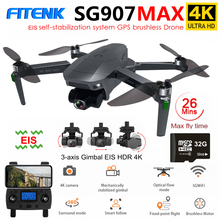 FITENK SG907 MAX PRO Professionelle GPS Drone mit 4K 3 Achsen Gimbal Kamera Bürstenlosen 5G WiFi FPV RC eders Quadcopter PK SG906 Pro2