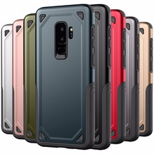 Luxury Tough Shockproof Rugged Armor Phone Case For Samsung Galaxy S9 S8 S10 Plus Hybrid Protective Cover S9Plus 10e