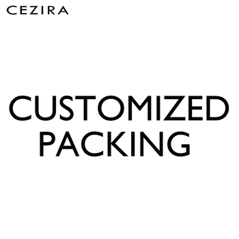 CEZIRA Customized Packing Care Bag Gift Thank you Card Swift Tag Design Special Custom Order Own Brand Drop Shipping wholesale image