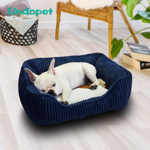 small medium pet dog bed hondenmand for large dogs corduroy(China)