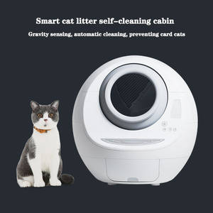 Potty Closed-Litter-Box Self-Cleaning Fully-Automatic Toilet Pet-Supplies Large