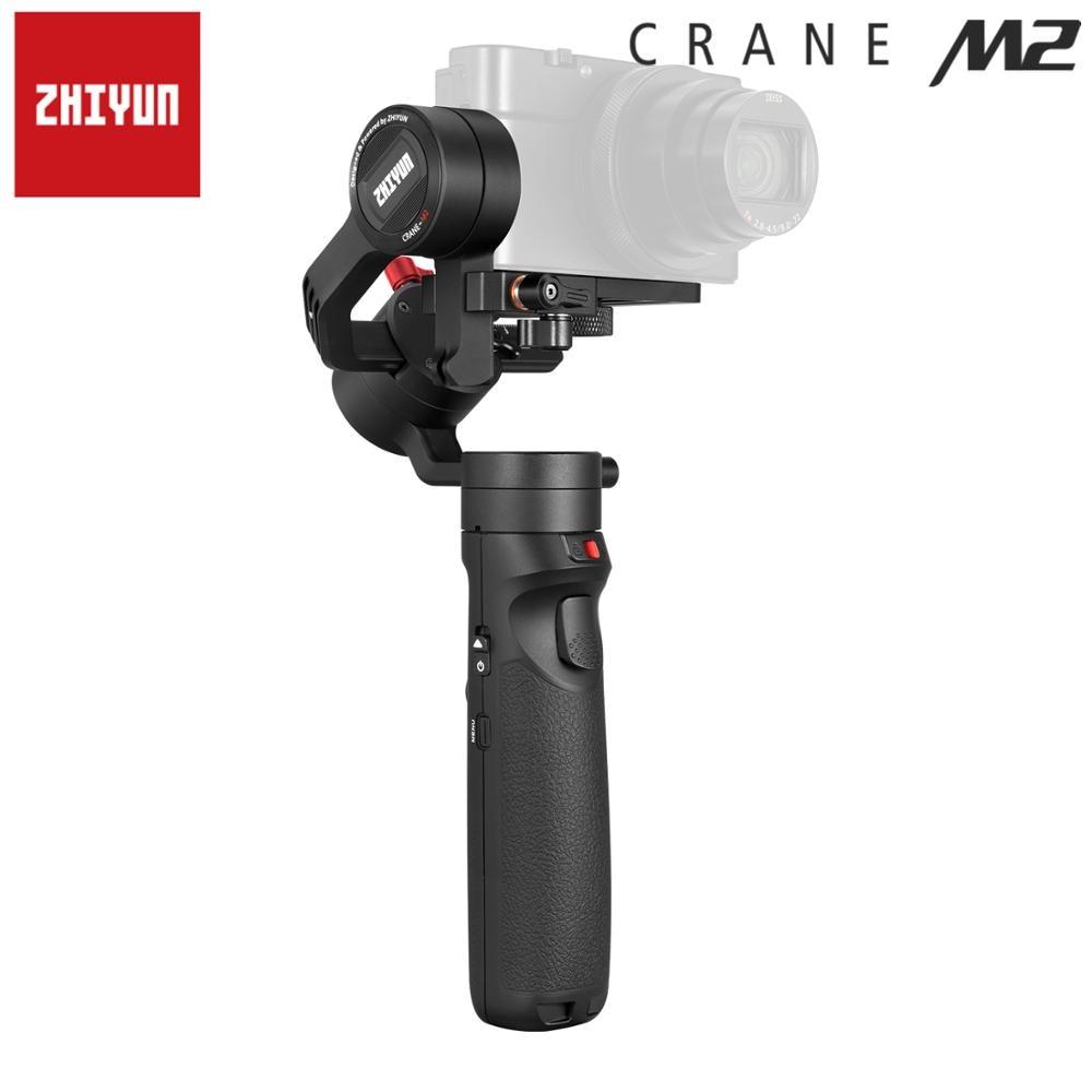 Zhiyun stabilisateur de cardan Smartphone 3 axes lisse 4 grue M2 pour iPhone Xs Max Xr X 8 7 & Samsung S9, 8 7 & caméra d'action - 6