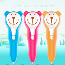 Cute 3D Pen 3D Printing Drawing Pens DIY 3 d Printer Pen with PCL Filament Creative Toys Kid Birthday Gift Christams Present new magic 3 d printer pen drawing 3 d pen original 3 d printing 3d pens for kids birthday present useful gifts
