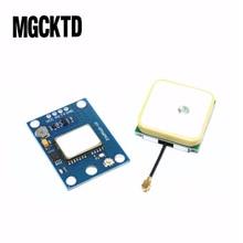 Новый GPS модуль 10 шт./лот с управлением полетом EEPROM MWC APM2.5 большая антенна