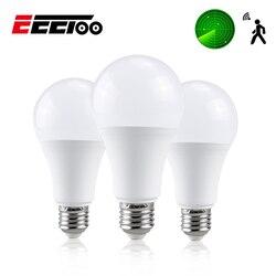 EeeToo-lampe ampoule LED intelligente, capteur de Radar E27 AC85-265V, ampoule, Radar Led 10W 15W 20W 25W, économie d'énergie, lampe pour la maison