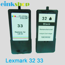 Einkshop For Lexmark 32 33 Ink Cartridges For Lexmark printer For Lexmark Printer Z810 Series Z812 Z815 все цены