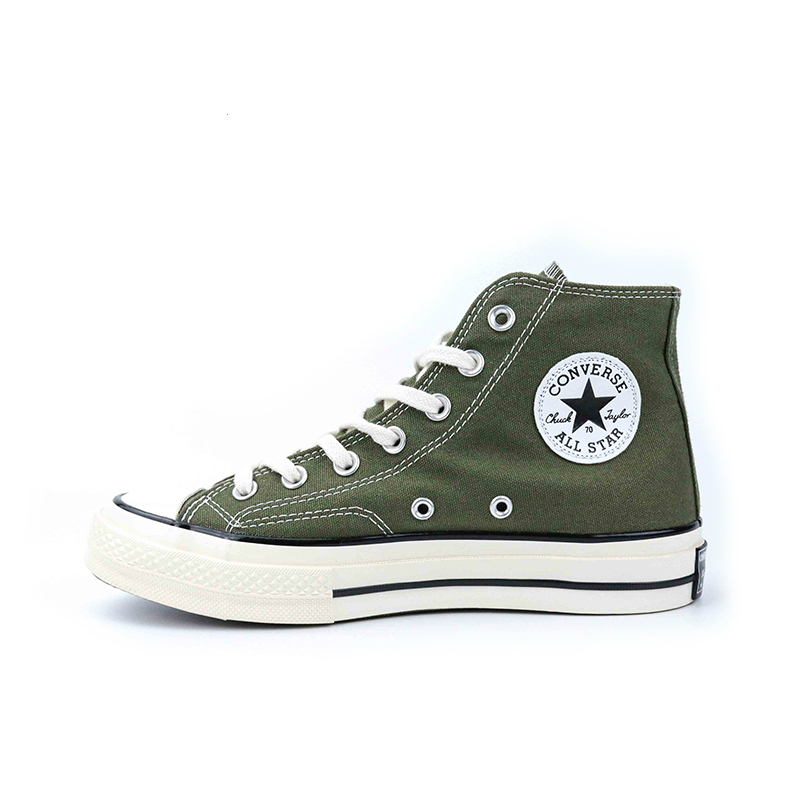 Converse All Star Skateboarding Shoes Classic Unisex Canvas High Top Anti-Slippery Comfortable Breathable Sneaksers  Rubber