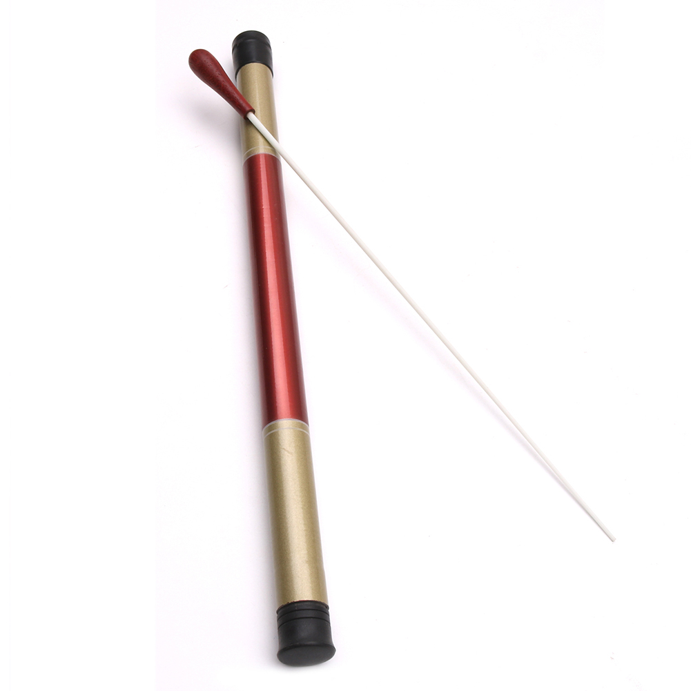 Instrument Accessorizes Stage Wood Handle Orchestra Conducting Music Baton Set Band Professional Musician With Case Performance