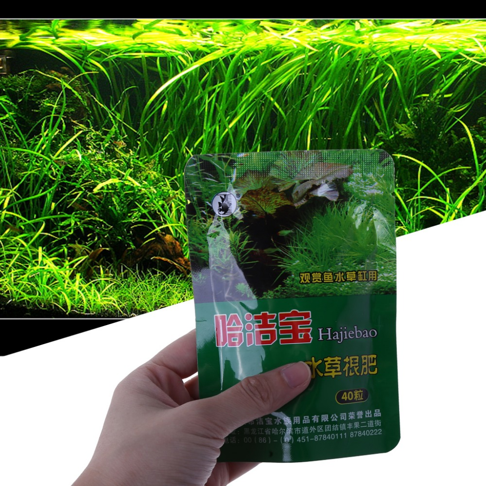 Aquarium Plant Grass Fertilizer Root Tab Capsules Live Water Fish Tank Nutrition