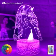 Lampe en 3d à l'effigie des personnages du dessin animé zéro deux, veilleuse, cadeau idéal pour les enfants et les filles